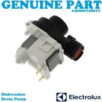 ELECTROLUX Genuine Dishwasher Drain Pump 140000738017