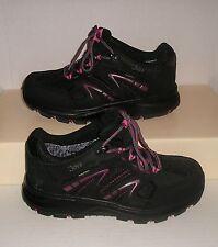 Joya Womens Interlaken Low Black/Pink Nubuck/Textile Ankle Boots 8.5 US NEW WO/B
