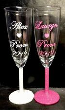 Personalised Prom Glasses, Champagne, Wine