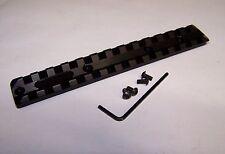 "Little Badger Black Anodized LongShot 5.5"" aluminum picatinnyTop Rail CHIAPPA"