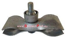 Mobilzaun / Bauzaun Hochsicherheitsverbinder 25 stk inkl. Schlüssel