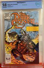 The Dark Crystal #1 CBCS graded 9.8 NM/MINT 1983 Marvel Comics Movie Adaptation