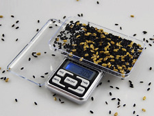 Digital 500g x 0.1g Scale Jewelry Portable Pocket Balance Gram OZ. LCD Herb Gold