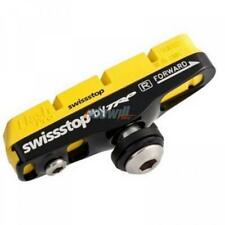 coppia pattini completi flashpro yellow king shimano sram carbonio SwissStop bic