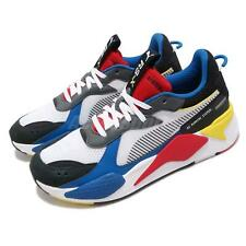 Puma RS-X Toys Running System White Black Blue Red Yellow Men Shoes 369449-02
