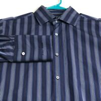 Banana Republic Men's Long Sleeve Button Up Shirt Large L Multicolor Stripes
