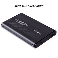 External Backup Hard Drive 500GB USB 3/2.0 Case Enclosure 2.5 Portable HDD Sata
