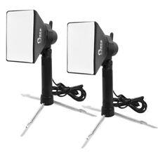 2X Portable Mini Photo Studio LED Light Kit 5500K Lamp W/ Tripod Stand + Softbox