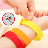 5/10Pcs Mosquito Bug Repellent Bracelet Wrist Band Insect Protection Acces