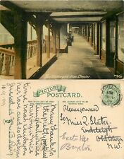 s07939 Watergate Row, Chester, Cheshire, England postcard posted 1909 stamp