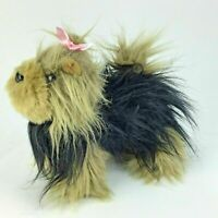 Battat Yorkshire Terrier Yorkie realistic Plush Toy Dog Toto Oz Stuffed Animal