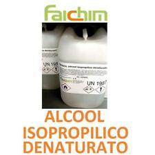 5 LT ALCOOL ISOPROPILICO DENATURATO IGIENIZZANTE DISINFETTANTE