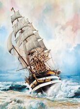 Clementoni Puzzle 1000 Pieces Amerigo Vespucci Tall Ship Boat Jigsaw