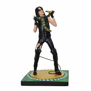 Knucklebonz Rock Iconz Alice Cooper Statue Figure - New