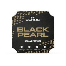 """OEHMS """"BLACK PEARL CLASSIC"""" Co-Polyester Tennissaite, Tennis String, 200m"""