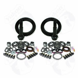 Yukon YGK009 Gear & Install Kit Package For Jeep TJ Rubicon 4.56 Ratio NEW
