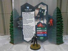 Heroscape Custom Black Mask Double Sided Card & Figure w/ Sleeve DC