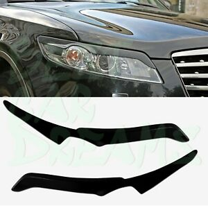 HEADLIGHT EYEBROWS COVERS TRIM FOR INFINITI FX 35 FX 50 2003-2008