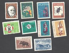 Bulgaria - Ten Different Mint, Hinged, Stamps