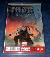 THOR GOD of THUNDER #2 1st print 1st app GORR GOD BUTCHER MARVEL 2013 NM-