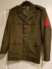 US Marine Corps Uniform Dress Coat Jacket 38S