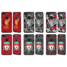 LIVERPOOL FC DIGITAL CAMOUFLAGE BLACK GUARDIAN CASE FOR APPLE iPHONE PHONES