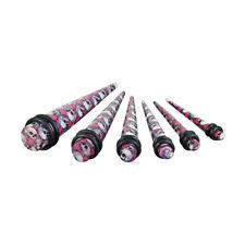 Juego de 6 Varilla de expansión EXPANSOR TAPER Piercing Calavera 3mm-10mm