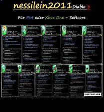 Diablo 3 RoS Ps4/Xbox One - Alle 13 Legendären Uralten Waffen - UNMODDED - SC