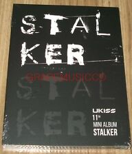 U-Kiss UKISS STALKER 11th Mini Album K-POP CD + PHOTOCARD SEALED