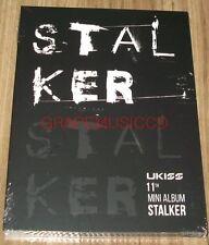 U-Kiss UKISS STALKER 11th Mini Album K-POP CD + PHOTOCARD + FOLDED POSTER NEW
