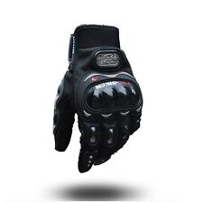 Pro-Biker Probiker Motorcycle Bike Riding Gloves Glove Black Colour XL size