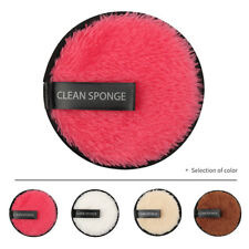 1PC Makeup Face Cleansing Pad Remover Microfiber Cloth For Home Soft 95mm