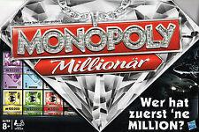 Monopoly Millionär - Wer hat zuerst 'ne Million - Hasbro Brettspiel - NEU+OVP