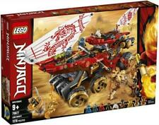 LEGO Ninjago Land Bounty 70677 Toy Truck Building Set with Two Toy Vehicles