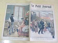 Le petit journal 1900 499 ouvriers anglais à l'exposition + incidents de jersey