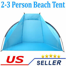 Beach Tent Sun Shade Shelter Outdoor Windproof Camping Fishing Canopy Two People