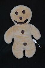 Peluche doudou bonhomme biscuit beige EURO SOUVENIRS GMBH 28 cm TTBE