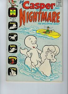 Harvey Lot of 4: Mutt & Jeff-Hot Stuff-Casper-Richie Rich Millions  1960s comics