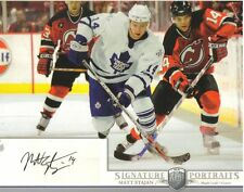 2006-07 BAP PORTRAITS - MATT STAJAN  8 X 10  AUTOGRAPHED PHOTO