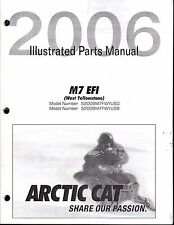 2005 ARCTIC CAT M7 EFI (WEST YELLOWSTONE) PARTS MANUAL P/N 2257-527   (417)