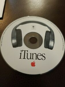 Vintage 2001 iTunes Installation CD MAC No Version Printed on CD Art RARE !
