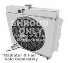 """Valiant V8 Monster Cooling Aluminum Radiator Shroud-17 1/2""""H x 22""""W, Fits #1635"""