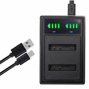 LCD LI-50B Battery charger for Olympus Stylus, MJU S Tough, VR X Cameras LI-50C