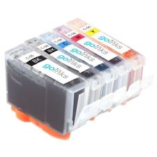 5 Ink Cartridges to replace PGI-5Bk, CLI-8Bk, CLI-8C, CLI-8M, CLI-8Y Compatible