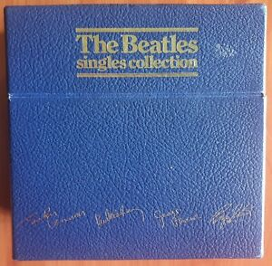 7/45 THE BEATLES : SINGLES COLLECTION (BOX SET) (UK) (1982 ISSUE)