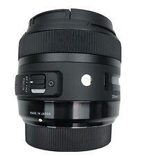 SONY A Mount Lens Sigma 30mm f/1.4 DC HSM Art w/ Cover Box Case Refurbished SONY