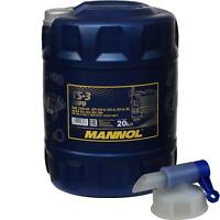 20 Liter MANNOL Motoröl TS-3 SHPD 10W-40 API CH-4/CG-4/CF-4/SL inkl. Auslaufhahn