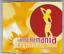 GRAHAM BONNEY - LA BAMBA ALEMANIA 3 TRACK MAXI CD + MEGA HIT MIX WÄHLE 333