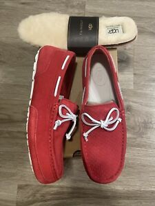 UGG MENS M Chester Perf. Red . Size 9 -  NEW