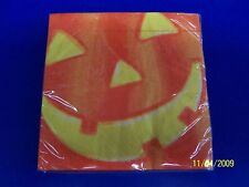 Happy Candy Eating Halloween Party Beverage Napkins